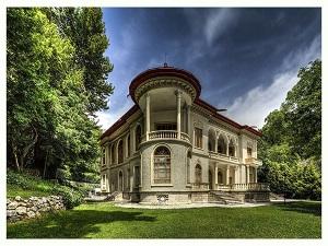 Visiting Saadatabad palace during tour around Iran