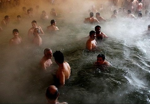 sarein - Iran mineral springs