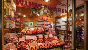 How sausage flavours the German language