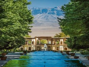 Shahzade Garden in Tour around Iran