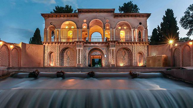 Iran highlight tour- shazdeh garden