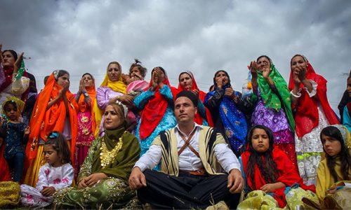 Nomad tour in Iran