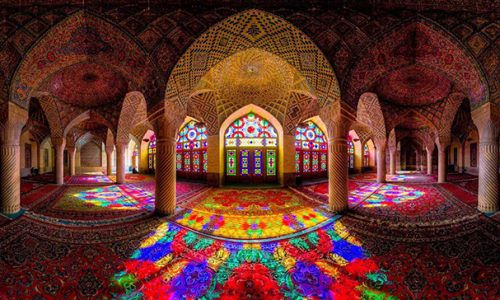 pink mosque - shiraz - Tour of Persia