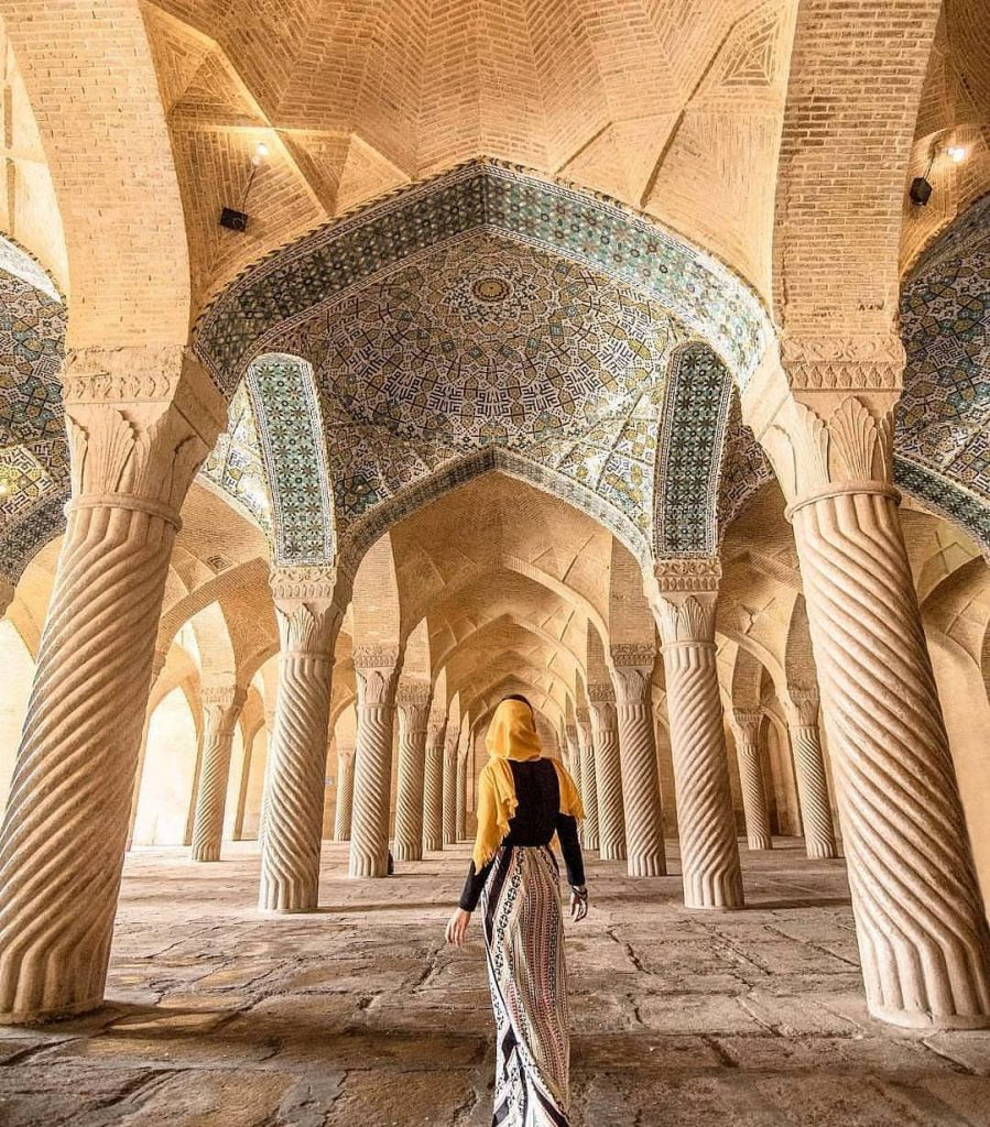 Vakil mosque - beautiful mosques in Iran