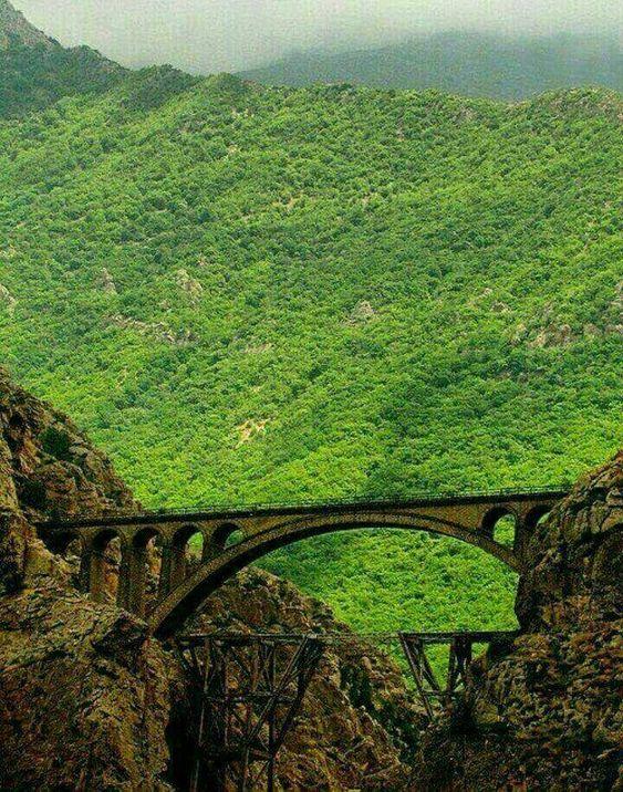Veresk Bridge- Iran by train