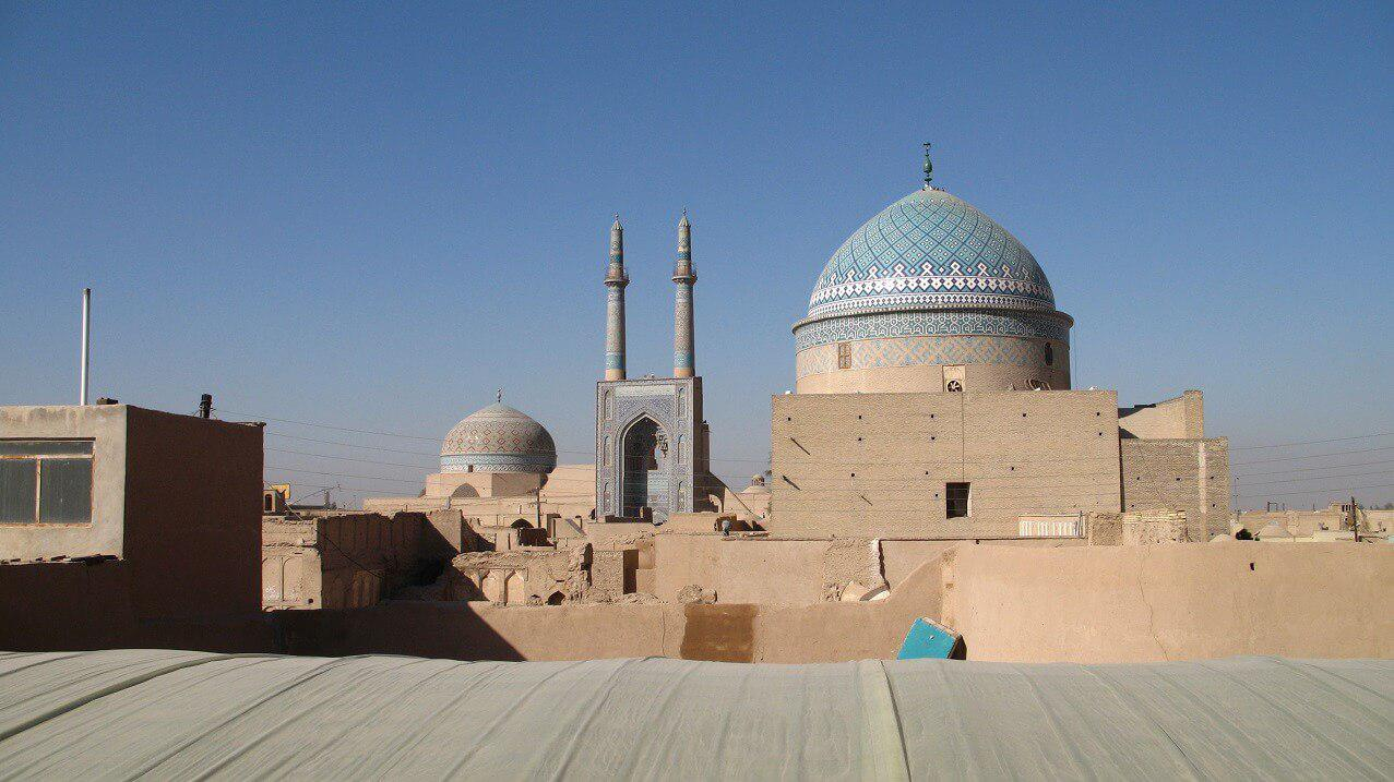 Yazd Jaame Mosque - Iran Destination
